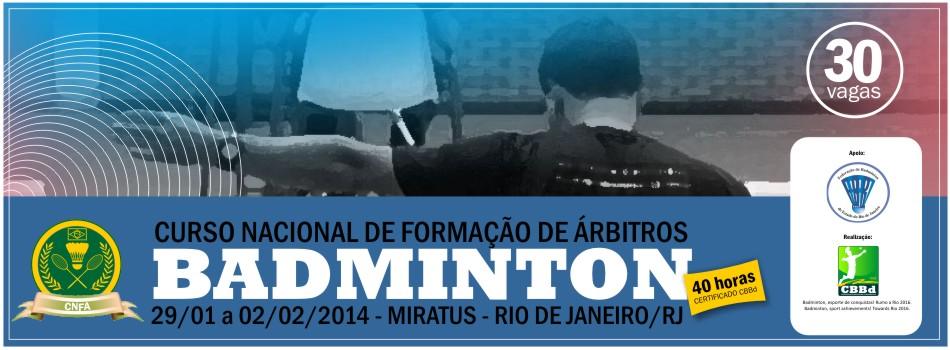 CBBd realiza 1º Curso Nacional de Formação de Árbitro de 2014 no RJ.