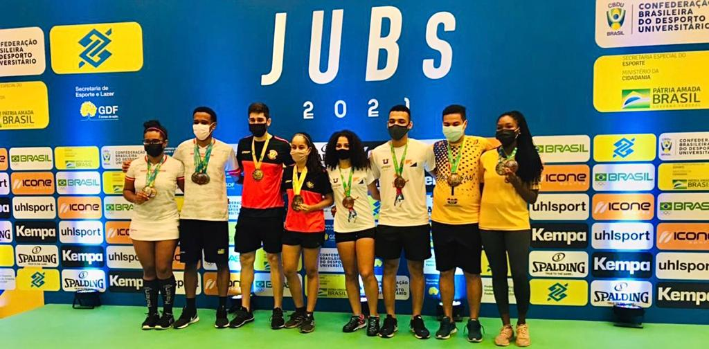 Badminton finaliza a sua participação no JUBs 2021. Conheça os campeões!