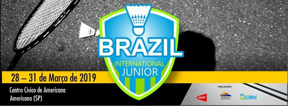 1º Brasil Internacional Júnior de Badminton - Tabela de Jogos