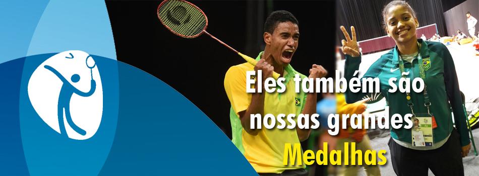 Brasileiros fazem hist�ria no badminton nos Jogos Rio2016