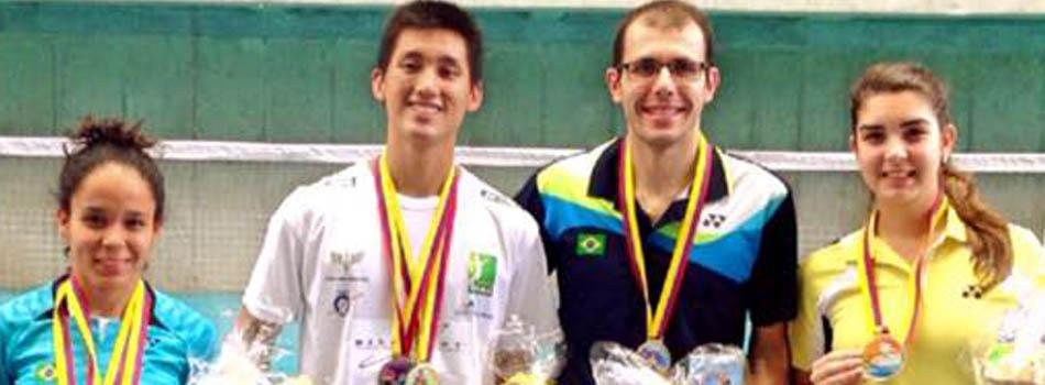 Medalhas: Brasil fatura Ouros e Pratas no Série Internacional da Colômbia