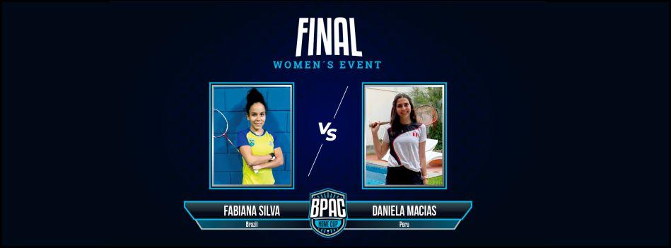 Fabiana Silva é a grande campeã da Taça de Badminton Pan Am Home