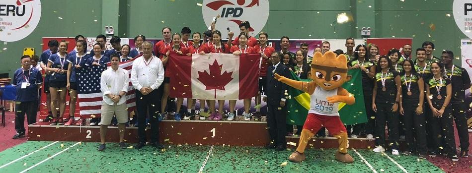 Seleção Brasileira é Bronze no PANAM por Equipes Adulto 2019