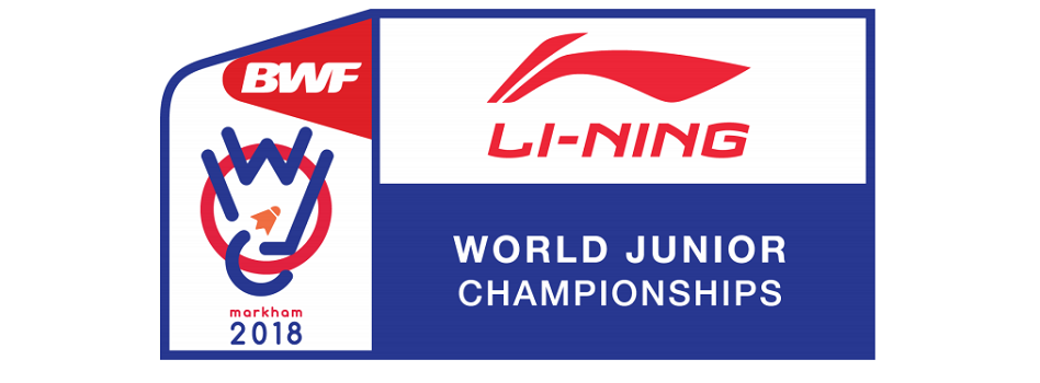 Cbbd disponibiliza comunicado sobre Li Ning Bwf World Junior Championship 2018