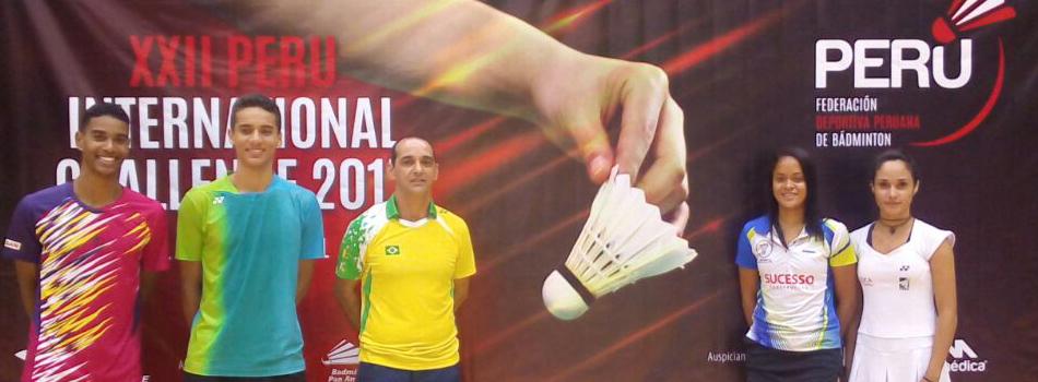 Brasileiros se destacam em torneio no Peru e conquistam vários pódios