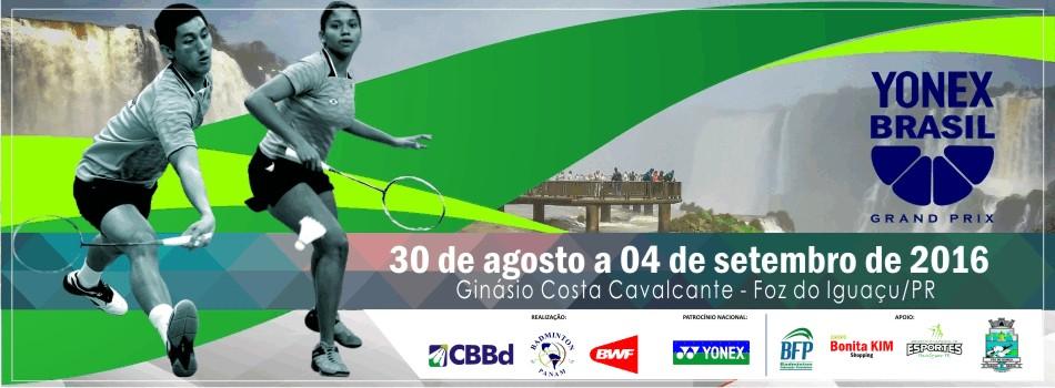 Brasil sediar� Yonex Brazil Open 2016. Confira carta convite para brasileiros.