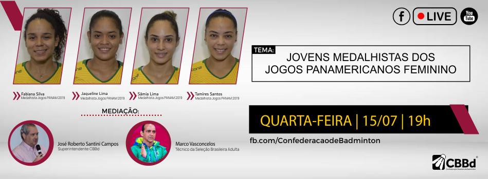 Time medalhistas dos Jogos Panamericanos 2019 farão