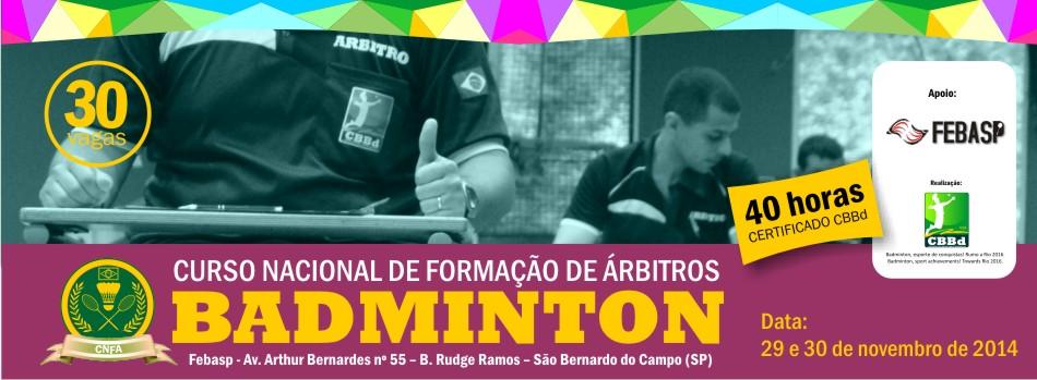 Aviso importante sobre CNFA que ser� ministrado em S�o Bernardo do Campo/SP