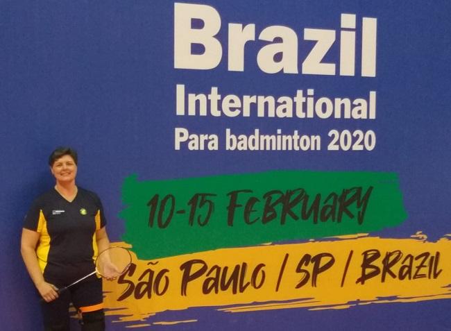 Aniversariante do dia, paratleta brasileira ganha de presente vaga nas semifinais