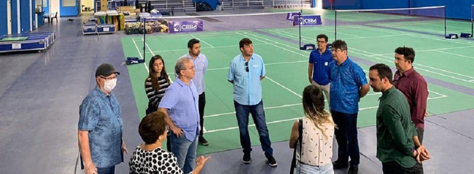 Covid-19: CT de Badminton em Teresina deve virar hospital de campanha com 80 leitos