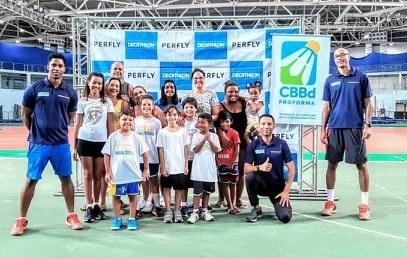 PROFORMA traz a oportunidade a quem quer ser atleta de Badminton